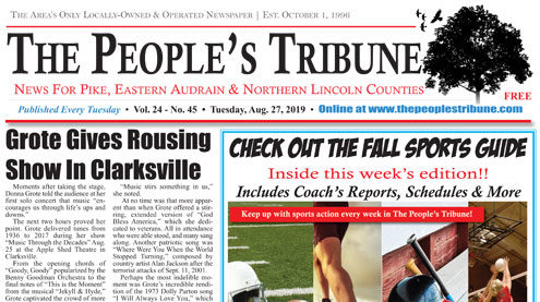 The People's Tribune | News for Pike, Eastern Audrain and